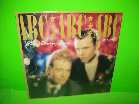 "ABC ‎– When Smokey Sings SEALED Vinyl 12"" EP Record Synth-Pop New Wave Pop Rock - Post Punk Records"