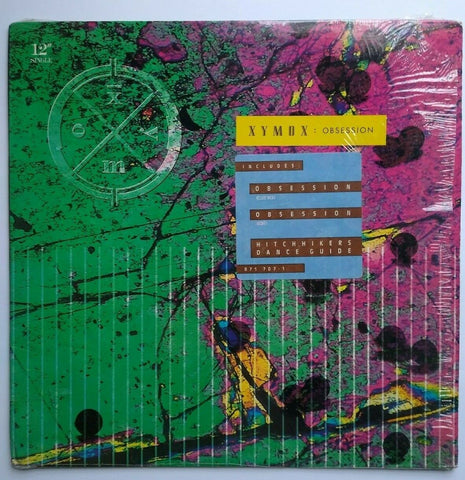 "Clan Of Xymox ‎Obsession 1989 Vinyl 12"" EP Record Synth-Pop Goth Post-Punk Hype"