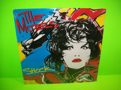 The Motels Shock SEALED Vinyl LP Record Album New Wave Synth-Pop Pop Rock 1985