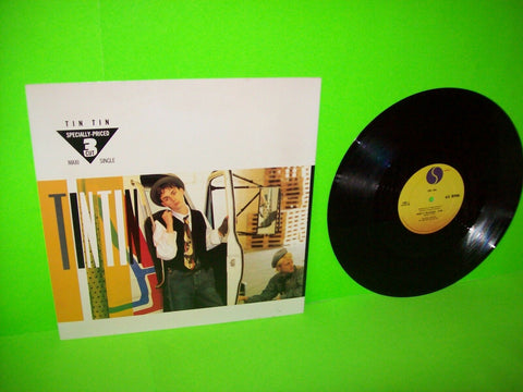 "TIN TIN Hold It 12"" Vinyl EP Record Stephen Duffy NEW WAVE Synth-Pop EX/NM - Post Punk Records"