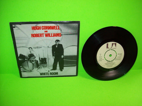 "Hugh Cornwell And Robert Williams ‎– White Room 7"" Vinyl Record UK Stranglers - Post Punk Records"