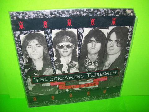 "The Screaming Tribesmen ‎– I've Got A Feeling SEALED 1988 Vinyl 12"" EP Record - Post Punk Records"