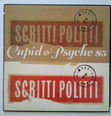 Scritti Politti Cupid & Psyche 85 Vinyl LP Record Synth-Pop New Wave Wood Beez
