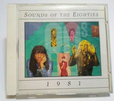 Sounds Of The Eighties 1981 CD Album Foreigner Rick Springfield James Four Tops - Post Punk Records