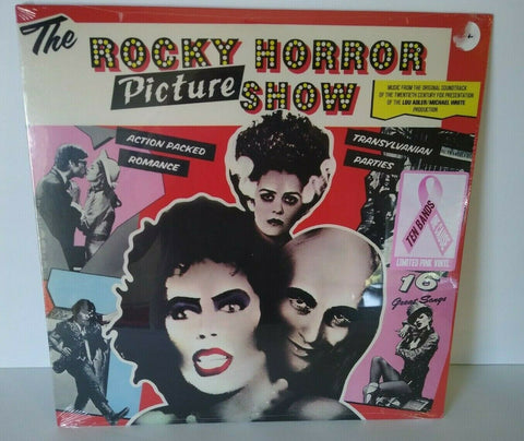 The Rocky Horror Picture Show PINK Color Vinyl LP Record Horror Halloween Ltd.