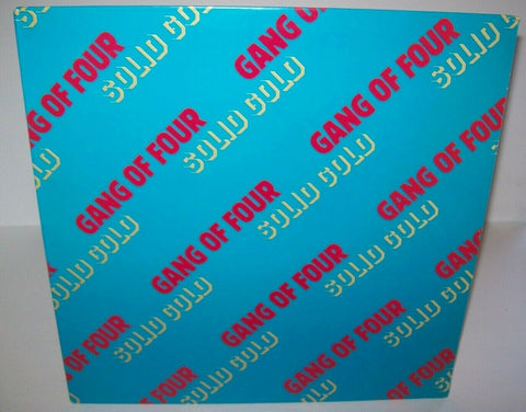 Gang Of Four Solid Gold Vinyl LP Record Album Post-Punk 1st Edition New Wave '81 - Post Punk Records