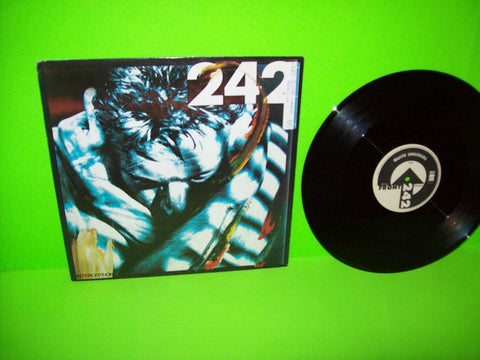 "Front 242 ‎– Interception Vinyl 12"" Record Electronic Industrial 1987 Wax Trax - Post Punk Records"
