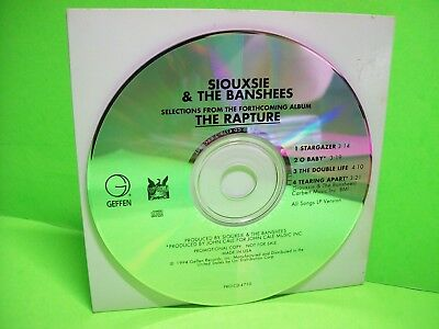 Siouxsie & The Banshees ‎– Selections From The Forthcoming Album The Rapture CD - Post Punk Records