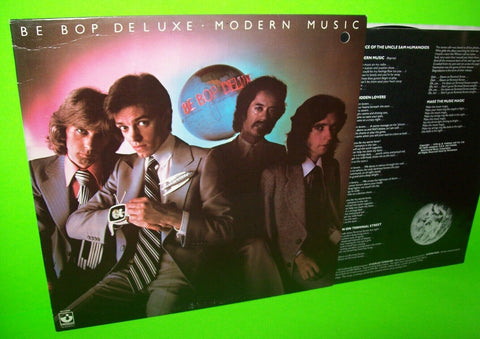 Be Bop Deluxe Modern Music Airplay Ed. Vinyl LP Record Promo Bill Nelson Rock - Post Punk Records
