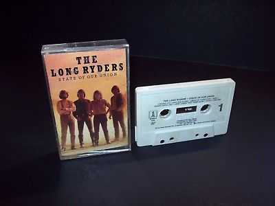 The Long Ryders ‎– State Of Our Union Cassette Tape 1985 Rock & Roll Country - Post Punk Records