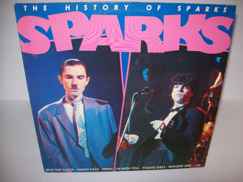 Sparks ‎The History Of Sparks 1981 Vinyl LP Record Album Glam Rock Synth-Pop EX - Post Punk Records