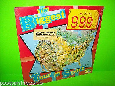 "999 ‎The Biggest Tour In Sport STILL SEALED Vintage Vinyl 12"" MINI LP Punk Rock - Post Punk Records"