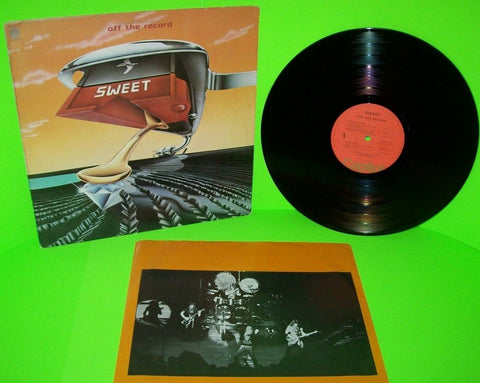 Sweet Off The Record Vinyl LP Record Album Hard Rock Lost Angels Funk It Up