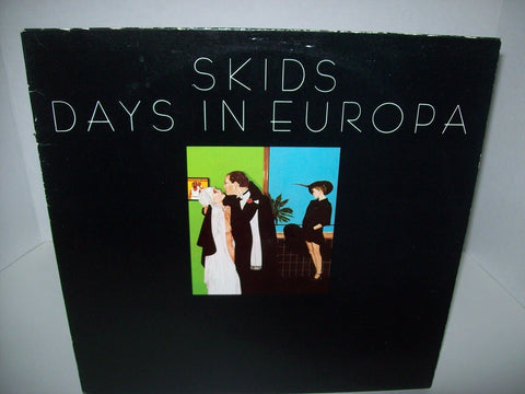 Skids Days In Europa Vinyl LP Record 1979 New Wave Post-Punk NM/VG+ Canada - Post Punk Records