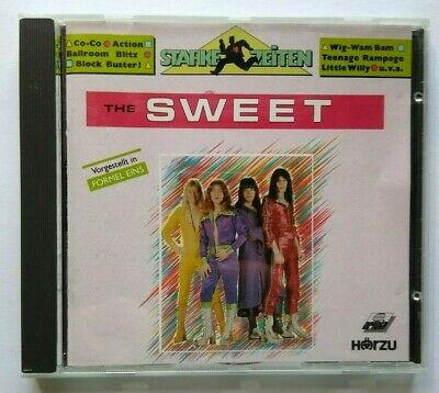 The Sweet Starke Zeiten CD Album Ballroom Blitz Fox On The Run Action Glam Rock