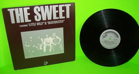 The Sweet Featuring Little Willy Blockbuster Vinyl LP Record Album Bell Glam 1973