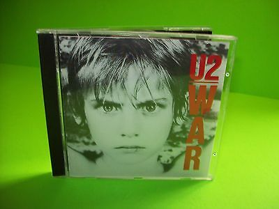 U2 ‎– War CD Island Records ‎– 422-811 148-2 Sunday Bloody Sunday New Years Day - Post Punk Records