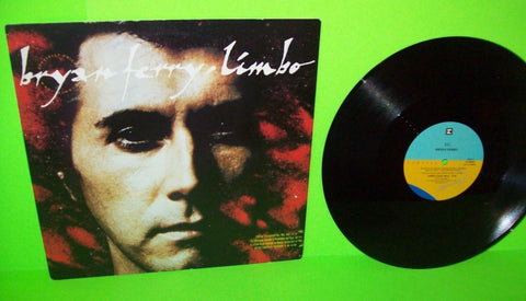 "BRYAN FERRY Limbo 12"" Vinyl EP Record Synth-Pop Electronic Pop Rock 1988 PROMO - Post Punk Records"