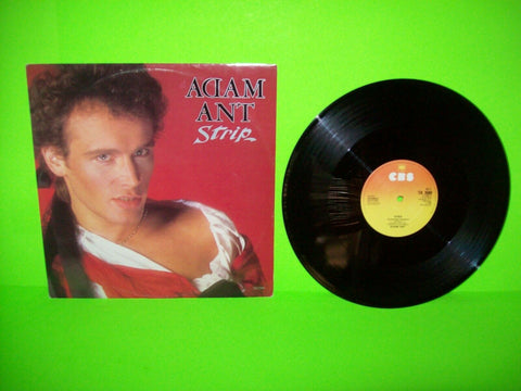 "Adam Ant Strip Vinyl 12"" Record Extended Mixes New Wave Pop Rock 1983 Scarce UK - Post Punk Records"