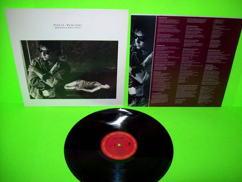 Paul Young Between Two Fires 1986 Vinyl LP Record Pop Rock With Some People Near Mint - Post Punk Records