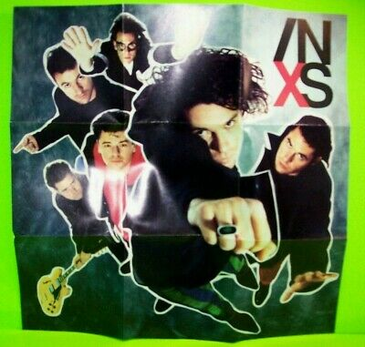 INXS X CD Album 1990 Pop Rock Suicide Blonde Disappear Bitter Tears The Stairs - Post Punk Records