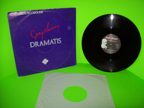 "Gary Numan Dramatis Love Needs No Disguise Vinyl 12"" EP Record Synth-Pop 1981 UK - Post Punk Records"