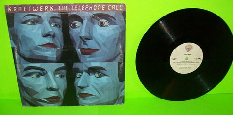 "Kraftwerk ‎The Telephone Call 1987 Vinyl 12"" Record Synth-Pop Electronic Music"