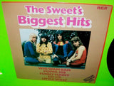 Sweet Biggest Hits Vinyl LP Record Glam Rock Little Willy Wig Wag Bam Co Co NM