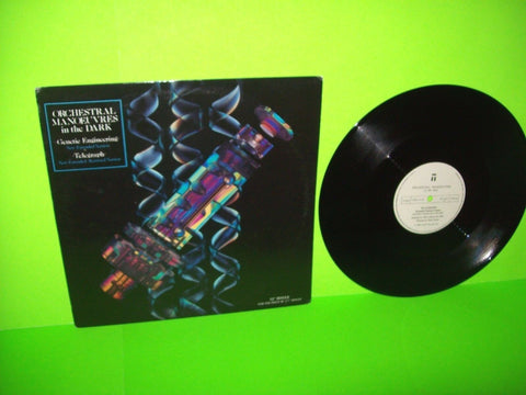 "Orchestral Manoeuvres In The Dark Genetic Engineering / Telegraph OMD 12"" Synth-Pop Electronic Music - Post Punk Records"