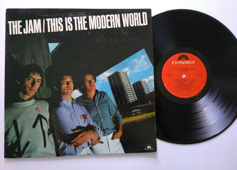 The Jam This Is The Modern World Vinyl LP Record Album 1977 Punk Rock Mod 1st Ed