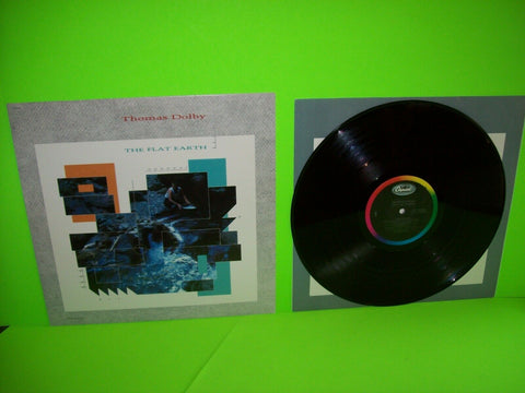 Thomas Dolby The Flat Earth Vinyl LP Record Hyperactive Synth-Pop New Wave 1984 - Post Punk Records