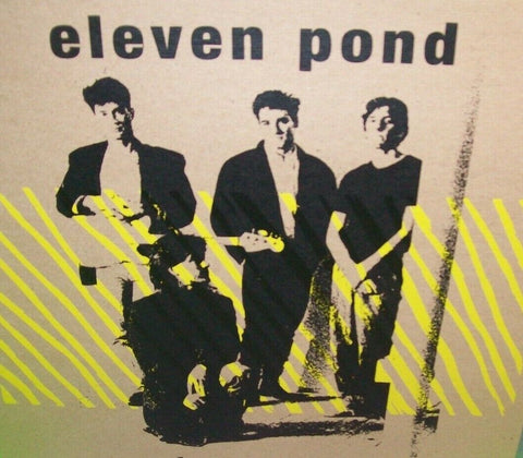 Eleven Pond ‎Bas Relief Vinyl LP Record Album Synth-Pop Post-Punk New Wave 2013 - Post Punk Records