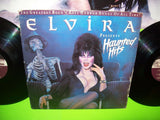 ELVIRA Presents Haunted Hits + POSTER Vinyl LP Record Cramps Monster Mash 1988 - Post Punk Records