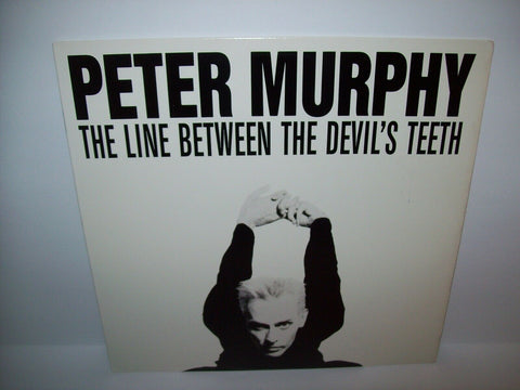 "Peter Murphy The Line Between The Devil's Teeth Vinyl 12"" Record Goth Post-Punk - Post Punk Records"