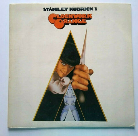 Stanley Kubricks A Clockwork Orange Movie Soundtrack Vinyl LP Record 1972 1st Ed