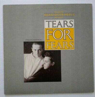 "Tears For Fears Broken Head Over Heels 12"" Vinyl Record 1985 New Wave Synth-Pop"