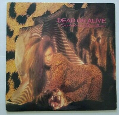 Dead Or Alive ‎Sophisticated Boom Boom Vinyl LP Record ALBUM Synth-Pop New Wave - Post Punk Records