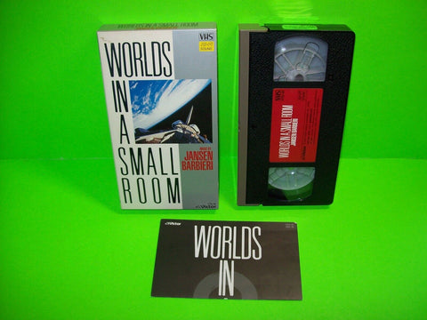 Jansen Barbieri Worlds In A Small Room 1985 VHS Video Tape Made In Japan Rare Members Of the Band Japan Ambient Electronica