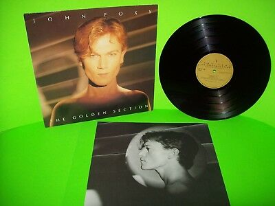 John Foxx The Golden Section Vinyl LP Record Album Import SynthPop NM Metal Beat - Post Punk Records