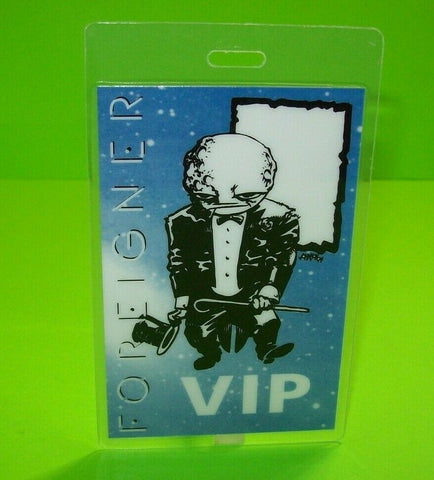 Foreigner Mr Moonlight Goblin Man Backstage Pass Original 1994 Concert Tour Rock