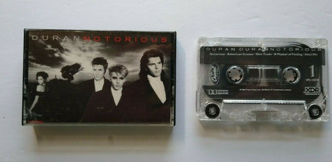 Duran Duran Notorious Cassette Tape Album New Wave Pop Rock Skin Trade 1986