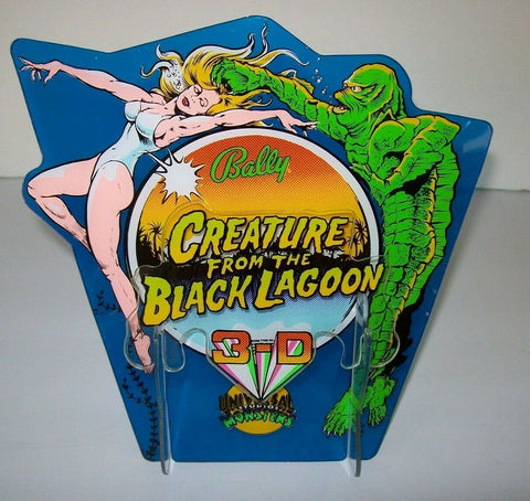 Creature From The Black Lagoon Bally Pinball Machine 3-D Plastic NOS Art Display