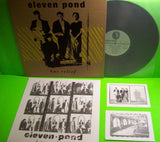 Eleven Pond ‎Bas Relief Vinyl LP Record Album Synth-Pop Post-Punk New Wave 2013