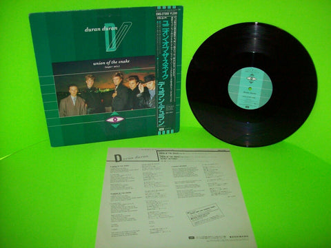 "Duran Duran Union Of The Snake Vinyl 12"" Record New Wave Synth-Pop Japan OBI NM - Post Punk Records"