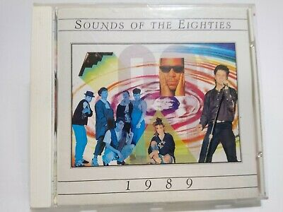 Sounds Of The Eighties 1989 CD Album Love And Rockets Tears For Fears New Wave - Post Punk Records