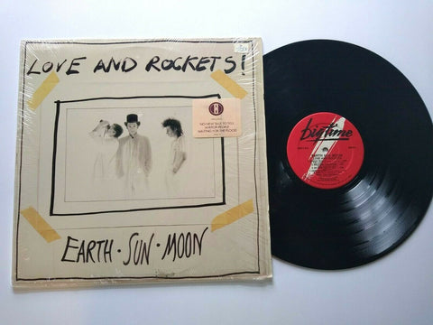 Love And Rockets Earth Sun Moon Vinyl LP Record Goth New Wave Post-Punk Hype