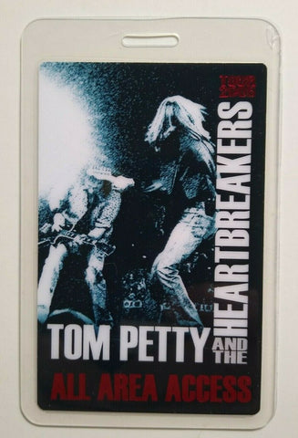 Tom Petty And The Heartbreakers Backstage Pass Laminated Original Rock Music '05