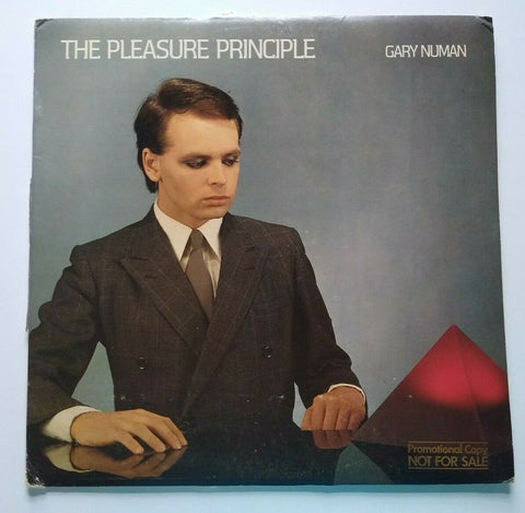 Gary Numan The Pleasure Principle Vinyl LP Record Album 1979 Promo CARS Synthpop