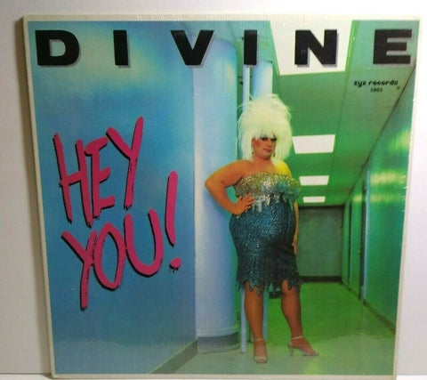 "Divine ‎Hey You 1982 SEALED 12"" Vinyl Record Drag Queen Synth-Pop Dance Electro - Post Punk Records"