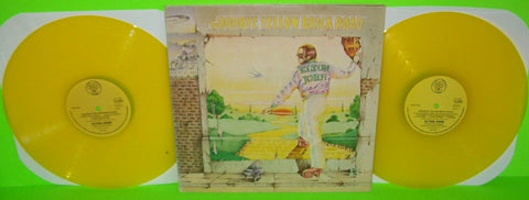 Elton John Goodbye Yellow Brick Road 1978 Vinyl LP Record YELLOW Translucent UK - Post Punk Records